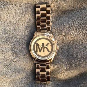 Stainless Steel Michael Kors Watch